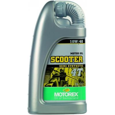 MOTOREX olej SCOOTER 4T 10W40 1L