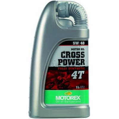 MOTOREX motorový olej CROSS POWER 4T 5W/40