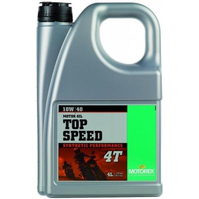 MOTOREX motorový olej TOP SPEED 4T 10W40 4l