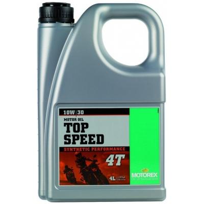 MOTOREX motorový olej TOP SPEED 4T 10W30 4l