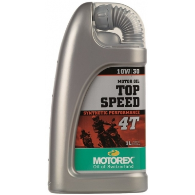 MOTOREX motorový olej TOP SPEED 4T 10W30 1l