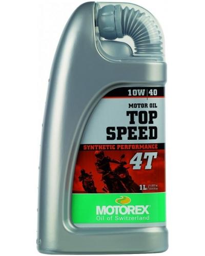 MOTOREX motorový olej TOP SPEED 4T 10W40