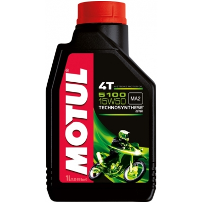 MOTUL motorový olej 5100 ESTER 4T 15W50 1L