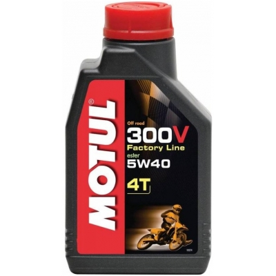 MOTUL motorový olej 300V 4T FACTORY LINE OFF ROAD 5W40 1L