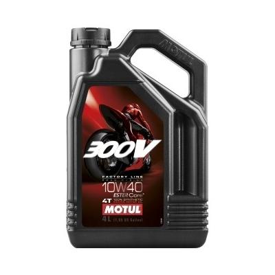 MOTUL olej 300V FACTORY LINE 4T 10W40 4L