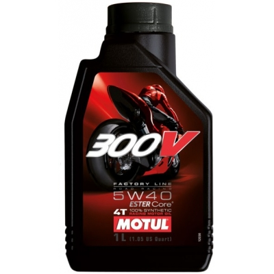 MOTUL motorový olej 300V 4T FACTORY LINE 5W40 1L