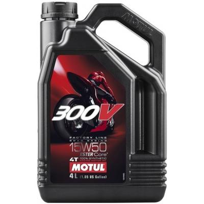 MOTUL motorový olej 300V FACTORY LINE ROAD RACING 4T 15W50 4L