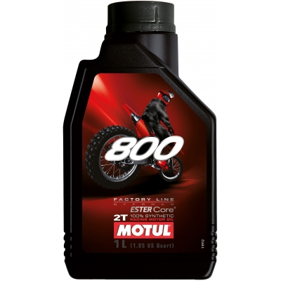 MOTUL olej 800 2T FACTORY LINE OFF ROAD 1L