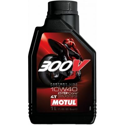 MOTUL olej 300V 4T FACTORY LINE 10W40 ROAD RACING