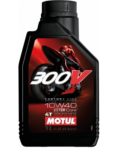 MOTUL olej 300V 4T FACTORY LINE ROAD RACING 10W40 1L