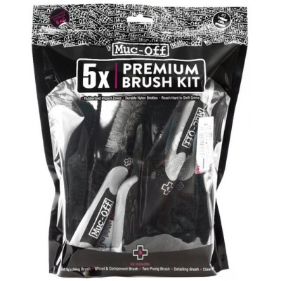 MUC-OFF sada kartáčů 5x BRUSH SET