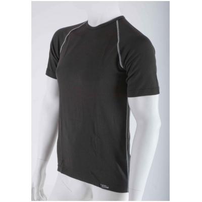 NANO triko AN-ATOMIC Krátký rukáv black