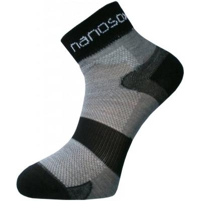 NANO ponožky COMFORT Cyklon grey/black