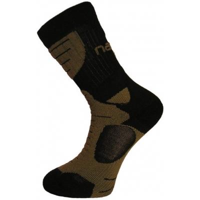 NANO ponožky AN-ATOMIC khaki