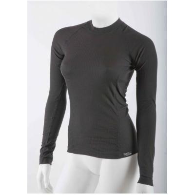NANO tričko COMFORT Dlhý rukáv dámske black