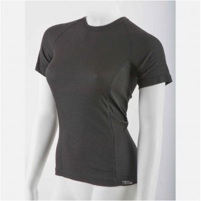 NANO triko COMFORT Krátký rukáv dámské black