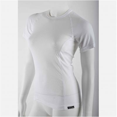 NANO tričko krátky rukáv COMFORT dámske white