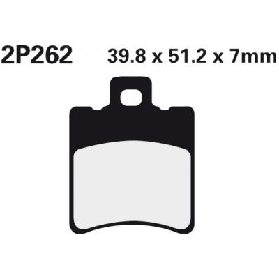 NISSIN Brzdová destička 2P262 SS