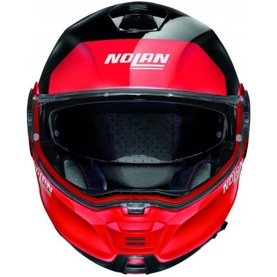 NOLAN přilba N100-5 PLUS Distinctive glossy black/red