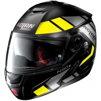 NOLAN přilba N90-2 Euclid flat black/yellow