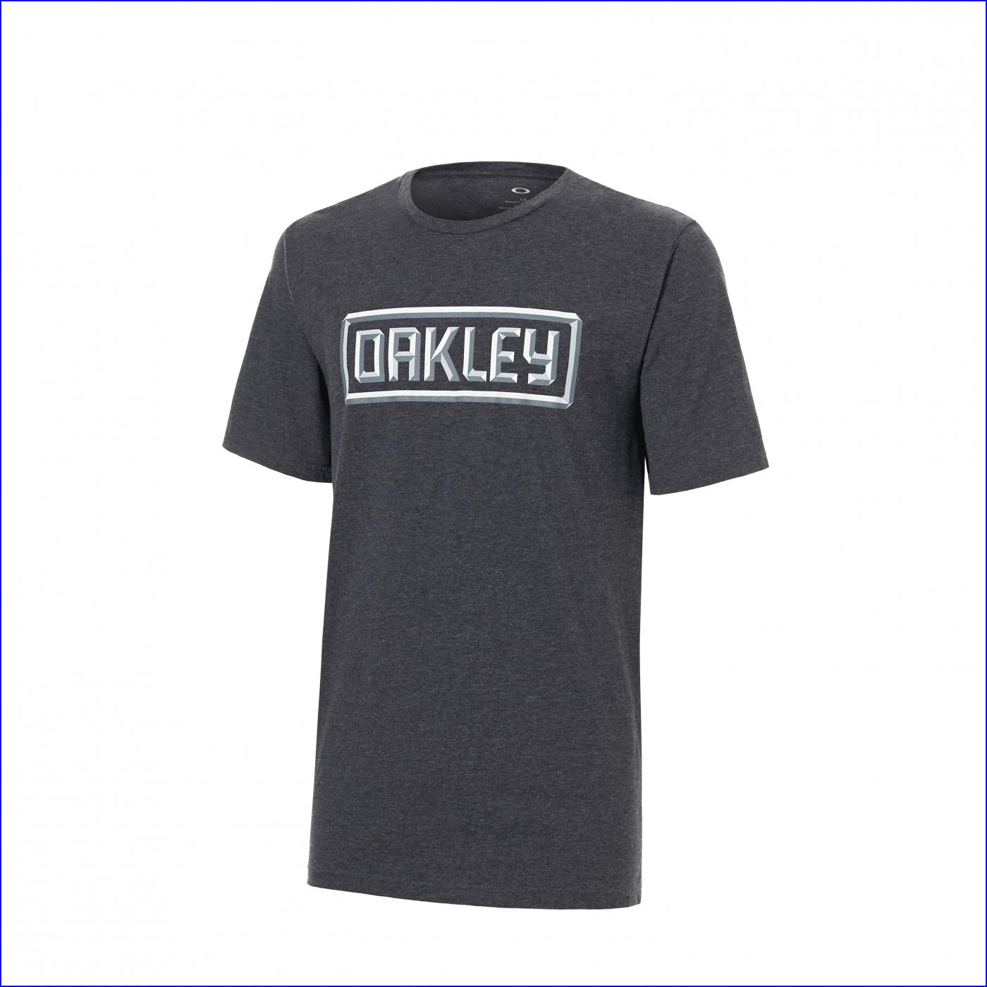 13c816046 Přidat do košíku. OAKLEY triko 50-3D OAKLEY blackout light heather