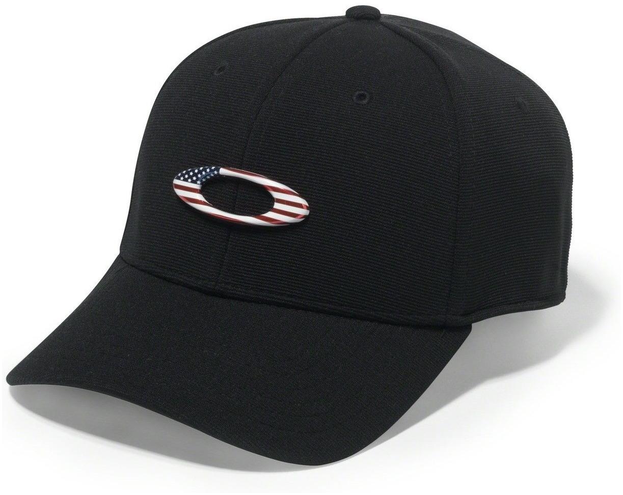 0f7cf5463 OAKLEY šiltovka TINCAN CAP black/american flag | BONMOTO
