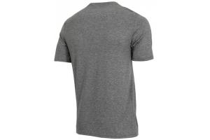 OAKLEY triko O-BOLD ELLIPSE athletic heather grey