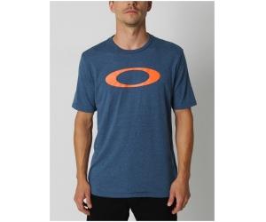 OAKLEY triko O-BOLD ELLIPSE blue/heather