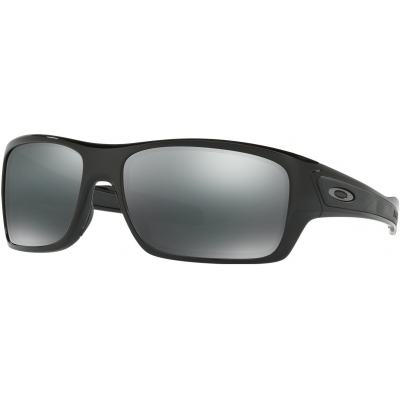 OAKLEY brýle TURBINE Prizm polished black/black polarized
