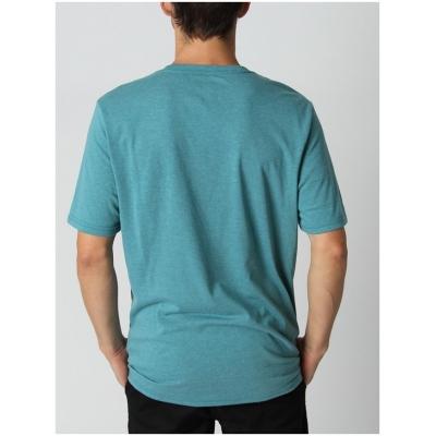 OAKLEY tričko O-BOLD ELLIPSE blue coral/heather