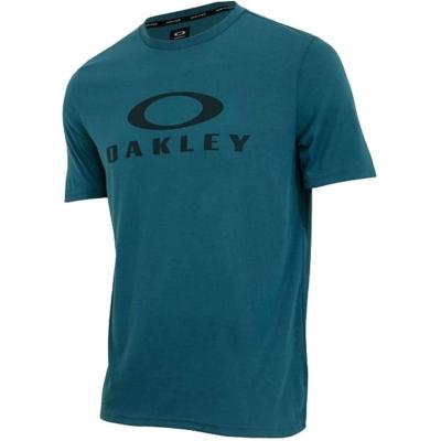 OAKLEY tričko O-BARK blue coral