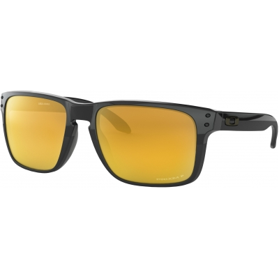 OAKLEY brýle HOLBROOK XL MIDNIGHT Prizm polished black/24k iridium polarized