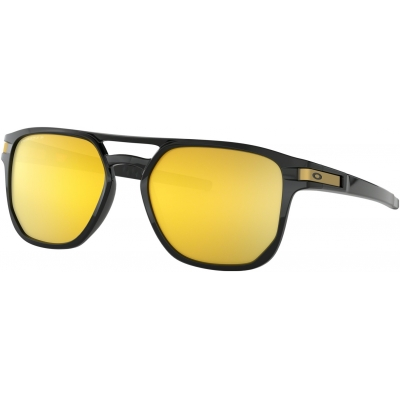 OAKLEY brýle LATCH BETA Prizm polished black/24K polarized