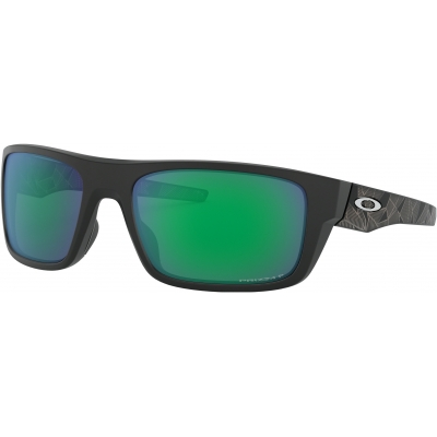 OAKLEY brýle DROP POINT Prizm matt black prizmatic/jade polarized