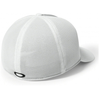 OAKLEY kšiltovka SILICON BARK TRUCKER 4.0 white