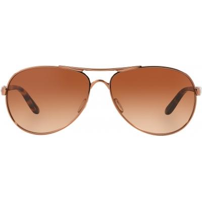 OAKLEY brýle FEEDBACK rose gold/VR50 brown gradient