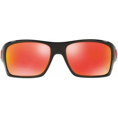 OAKLEY brýle TURBINE polished black/ruby iridium
