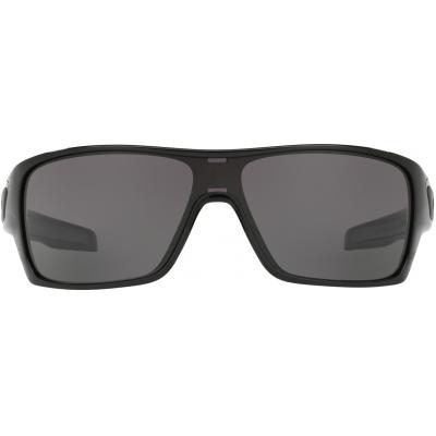 OAKLEY brýle TURBINE ROTOR polished black/warm grey