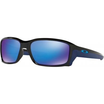 OAKLEY brýle STRAIGHTLINK polished black/sapphire iridium