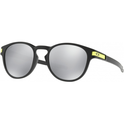 OAKLEY brýle LATCH VR46 matte black/chrome iridium
