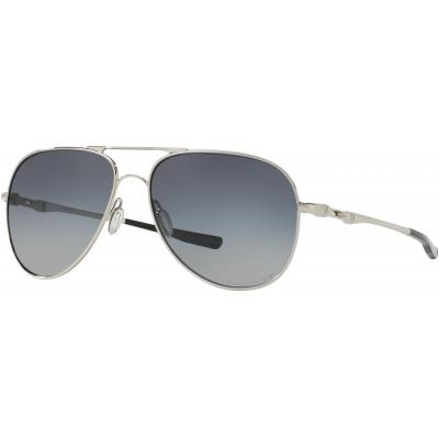 OAKLEY brýle ELMONT L Polarized polished chrome/gray gradient
