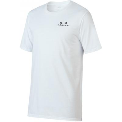OAKLEY triko 50-BARK REPEAT white