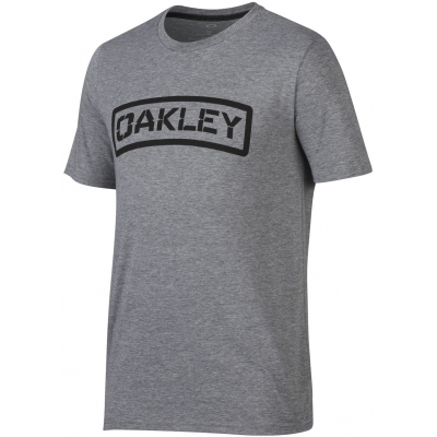 OAKLEY triko O-TAB athletic heather grey