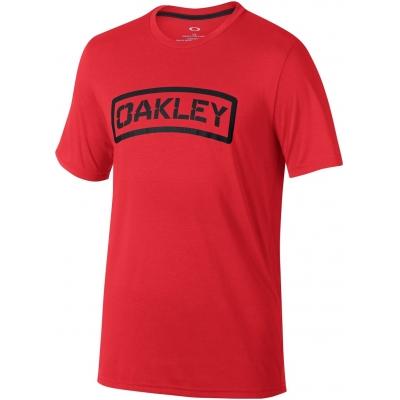 OAKLEY tričko O-TAB red line