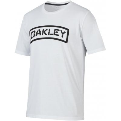 OAKLEY tričko O-TAB white