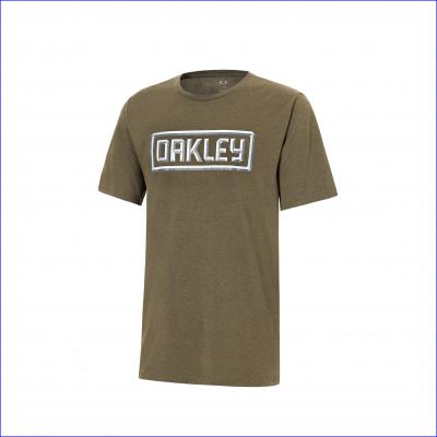 OAKLEY triko 50-3D OAKLEY dark brush dark heather