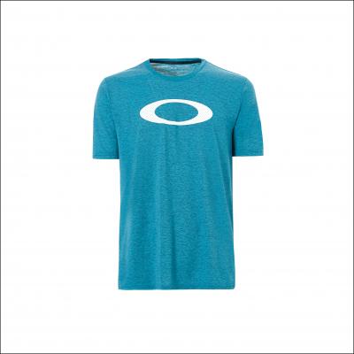 OAKLEY tričko SO-MESH ELLIPSE atomic blue dark heather