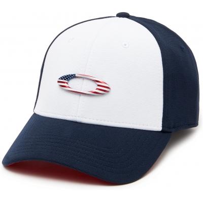 OAKLEY kšiltovka TINCAN CAP navy/white