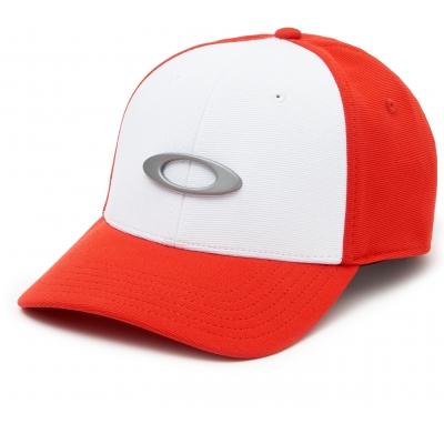 OAKLEY kšiltovka TINCAN CAP white/red