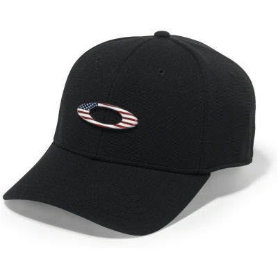 OAKLEY šiltovka TINCAN CAP black / american flag